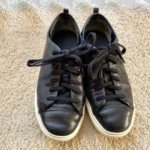 Cole Haan Jennica Leather Lace-Up Sneaker 7B